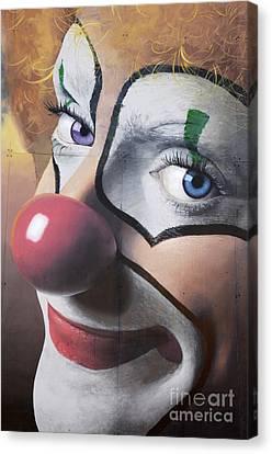 Clown Mural Canvas Print by Bob Christopher