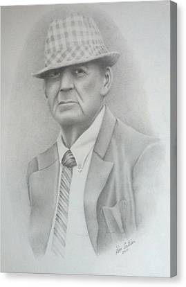 Coach Canvas Print by Don Cartier