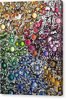 Coalescence Version 2 Canvas Print by Devin  Cogger