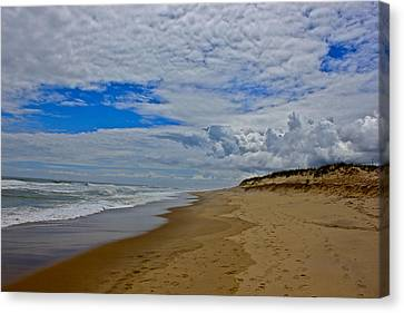 Coast Guard Beach Canvas Print by Amazing Jules
