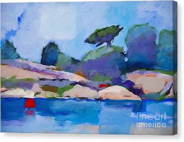 Coast Impression I Canvas Print by Lutz Baar