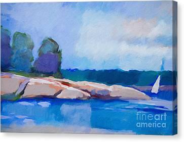 Coast Impression II Canvas Print by Lutz Baar