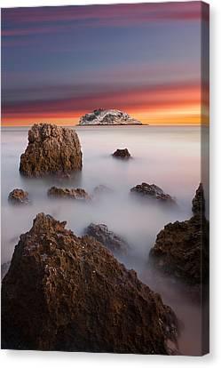 Coastal Glory Canvas Print by Jorge Maia