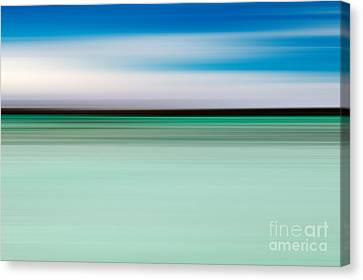 Coastal Horizon 5 Canvas Print by Delphimages Photo Creations