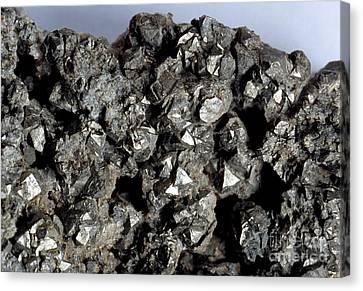 Cobaltine Mineral Canvas Print by Spl