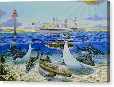 Cobia Run In004 Canvas Print by Carey Chen