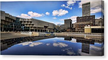 Cobo Hall Detroit Michigan Canvas Print by Gordon Dean II