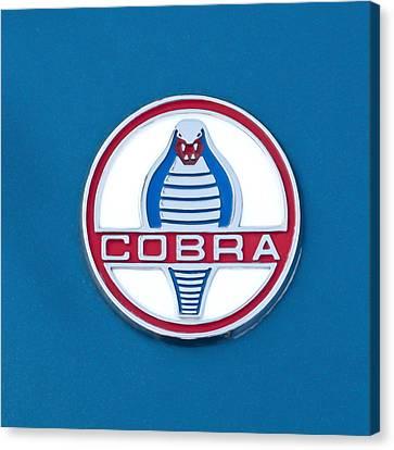Cobra Emblem Canvas Print by Jill Reger
