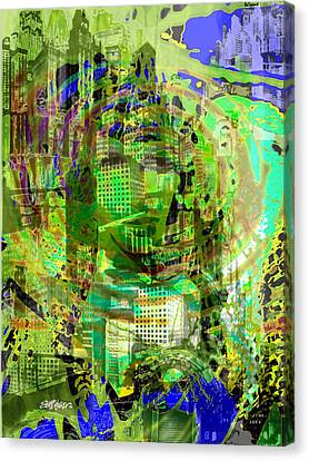Cobwebs Of The Mind Canvas Print by Seth Weaver
