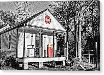 Coca Cola In The Country Canvas Print by Scott Pellegrin