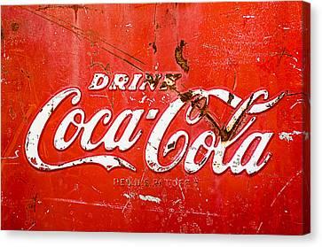 Coca-cola Sign Canvas Print by Jill Reger