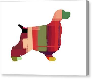 Cocker Spaniel 2 Canvas Print by Naxart Studio