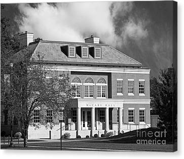 Coe College Mc Cabe Hall Canvas Print by University Icons