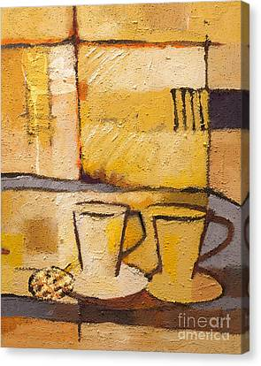 Coffee And Bisquit Canvas Print by Lutz Baar