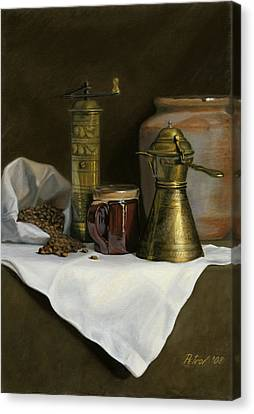 Coffee Balkanica Canvas Print by Dan Petrov