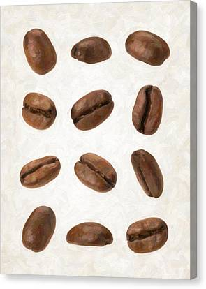Coffee Beans Canvas Print by Danny Smythe