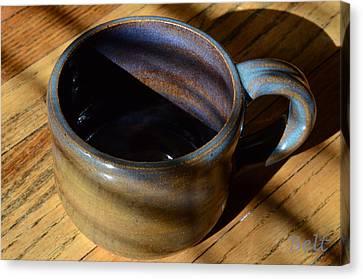 Coffee Connoisseur No.3 Canvas Print by Christine Belt