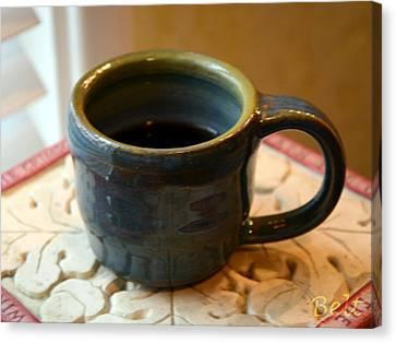 Coffee Connoisseur No.5 Canvas Print by Christine Belt