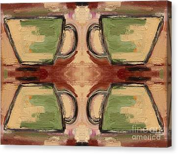 Coffee Cups Canvas Print by Patrick J Murphy