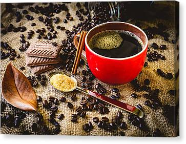 Coffee I Canvas Print by Marco Oliveira
