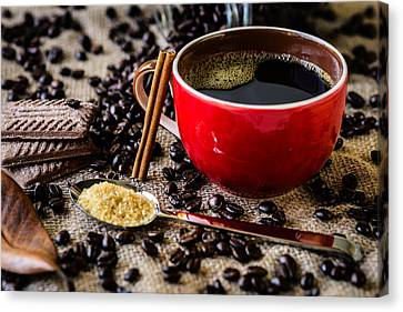 Coffee II Canvas Print by Marco Oliveira