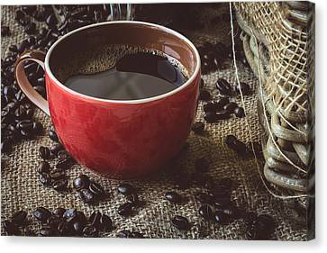 Coffee Iv Canvas Print by Marco Oliveira
