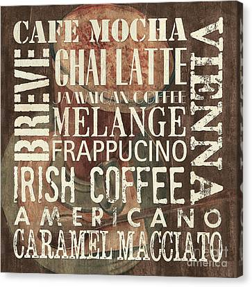 Coffee Of The Day 1 Canvas Print by Debbie DeWitt