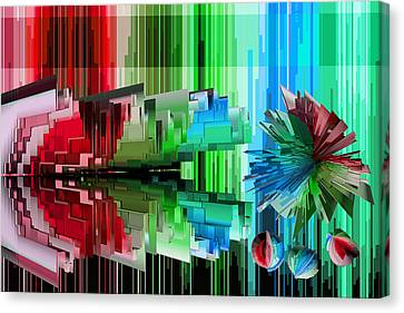 Cognitive Dissonance 3 Canvas Print by Angelina Vick