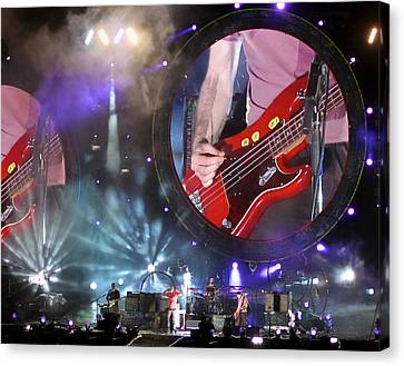 Coldplay - Sydney 2012 Canvas Print by Chris Cousins