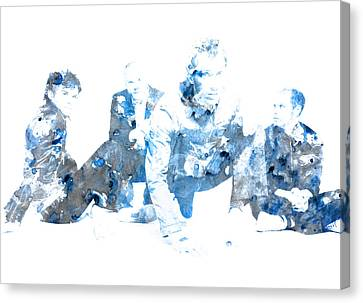 Coldplay Canvas Print by Brian Reaves