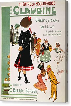 Colette Claudine, 1910 Canvas Print by Granger