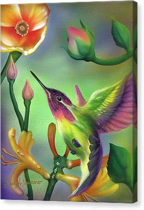 Colibri Canvas Print by Luis  Navarro