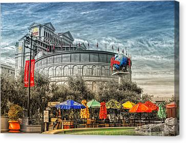 Coliseum Canvas Print by Stephen Campbell