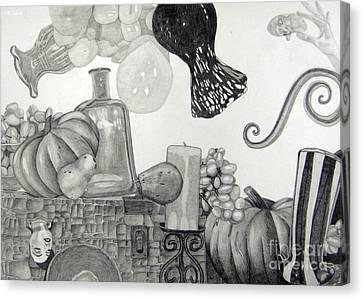 Collage Canvas Print by CA Zajicek