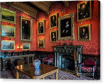 Collection Of Paintings Canvas Print by Adrian Evans