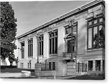 College Of Wooster Timken Science Library Canvas Print by University Icons