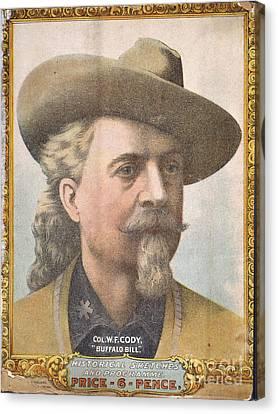 Colonel W.f Cody Canvas Print by British Library