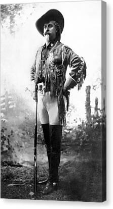 Colonel William F. Cody Canvas Print by W.H. Bates