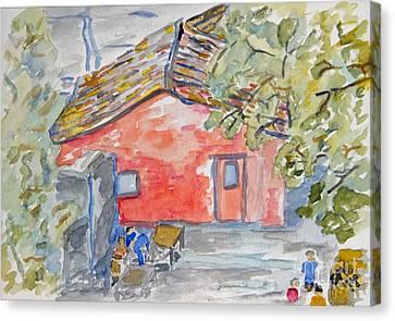 Colonia Del Sacramento Canvas Print by Greg Mason Burns