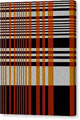 Color Grid Canvas Print by Art Spectrum