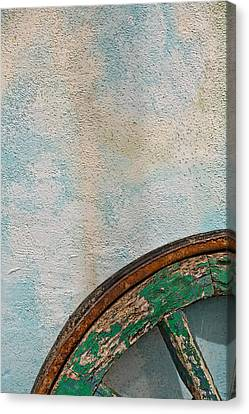 Color Wheel Canvas Print by Peter Tellone