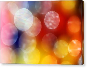 Colorful Abstract 4 Canvas Print by Mary Bedy