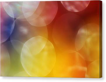 Colorful Abstract 7 Canvas Print by Mary Bedy