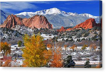 Colorful Colorado Canvas Print by John Hoffman