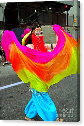 Colorful Dance Canvas Print by Ed Weidman