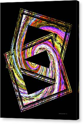 Colorful Swirl  Canvas Print by Mario Perez