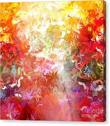 Colorplay 9 Canvas Print by Artwork Studio