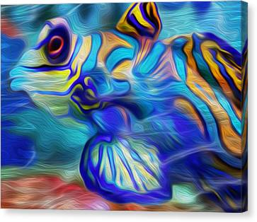 Colors Below Canvas Print by Jack Zulli