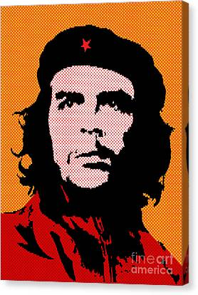 Colors Of Che No.3 Canvas Print by Bobbi Freelance