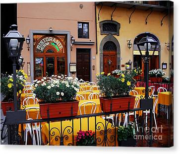 Colors Of Italy Canvas Print by Mel Steinhauer